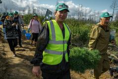 участники акции сохраним лес
